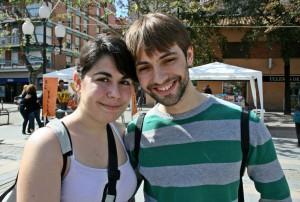 Xenia Armijo i Dennis Martínez