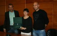 Sonia Bocanegra rep un homenatge de l'Ajuntament de la Llagosta