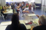 El primer avanç electoral registra el 32,90 % de participació a la Llagosta