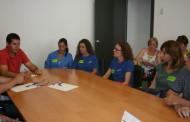 L'alcalde de la Llagosta es reuneix amb la plantilla de Lékué