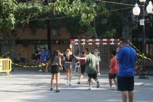 handbol al carrer
