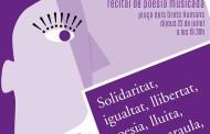 La Biblioteca i el CIRD organitzen el recital de poesia musicada Paraula de Dona