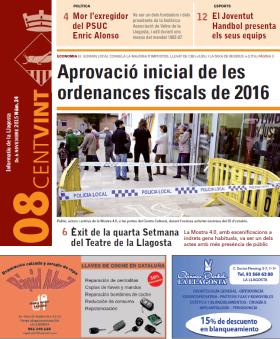 Novembre 2015. Edició número 24