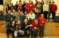 Les persones discapacitades d'Aspayfacos gaudeixen del seu dia a l'Asociación Rociera