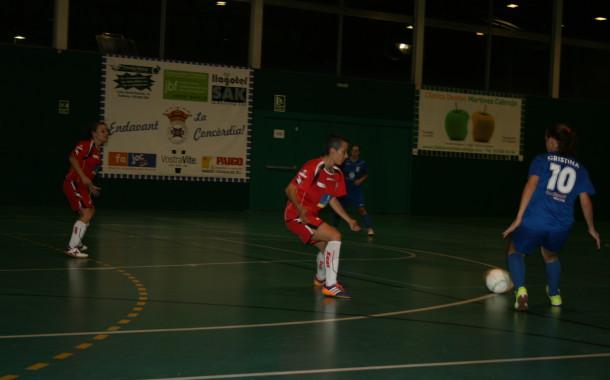El sènior del CD la Concòrdia ensopega a casa amb el Teldeportivo (2-5)