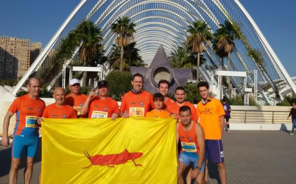 Una representació dels Fondistes de la Llagosta participa a la Cursa Trinidad Alfonso de València