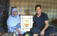 Una delegació de la Llagosta ha viatjat als campaments sahrauís