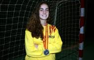 Marina Millán, satisfeta amb la medalla de plata al Campionat d'Espanya