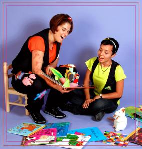 Un conte al sac, protagonstes del Carnaval a la Biblioteca