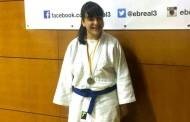 Naiara González i Nadia Vidal es pengen un bronze en el segon rànquing català de judo