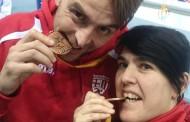 Sonia Bocanegra i Raúl Gracia, amb medalla al Campionat d'Espanya