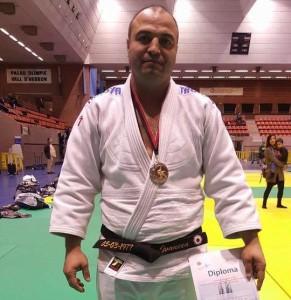 Andrei Ivancea. Fotografia: Facebook Club Judo Karate la Llagosta.