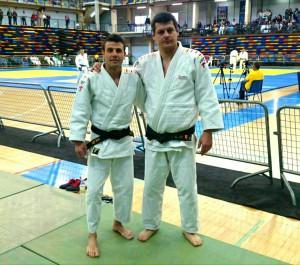 Cerrudo i Pons, a la dreta. Imatge facilitada per Sergi Pons.