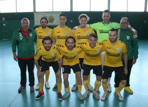Sènior A del FS Unión Llagostense.