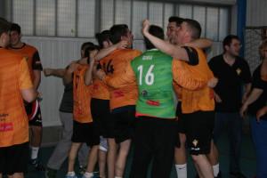 L'equip celebrant l'ascens a 3a Preferent