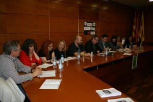 Jornada literària celebrada divendres a l'Ajuntament.