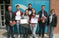 Lliurats els premis als millors treballs de recerca de l'Institut Marina