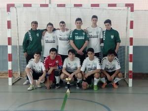 El conjunt cadet. (Imatge del Facebook del FS Unión Llagostense)