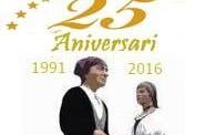 Els gegants de la Llagosta participaran a la celebració del 25è aniversari dels gegants de Canovelles