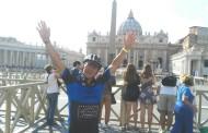José Luis Fabregat completa el recorregut en bicicleta fins a Roma
