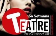 Darrers actes de la cinquena Setmana del Teatre de la Llagosta