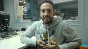 Javier Córdoba a Ràdio la Llagosta.