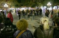 La plaça d'Antoni Baqué acull avui els actes centrals del Dia contra la violència vers les dones