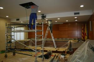Sala Plens, instal·lació aire (2)