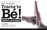 Campanya contra la violència i qualsevol tipus de discriminació