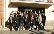Un grup de professors de centres educatius europeus visita la Llagosta