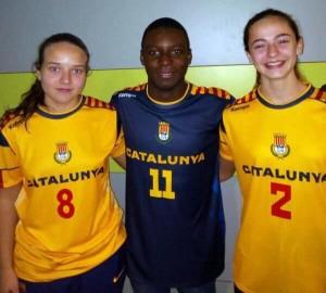 Muñoz, Kejera i Serrano (Foto: Facebook Joventut Handbol)