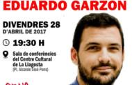EUiA porta a la Llagosta Eduardo Garzón per presentar el llibre Desmontando los mitos económicos de la derecha