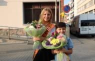 Aitana Pascua, pubilleta, i Ángel Di Lascio, hereu de la Llagosta 2017