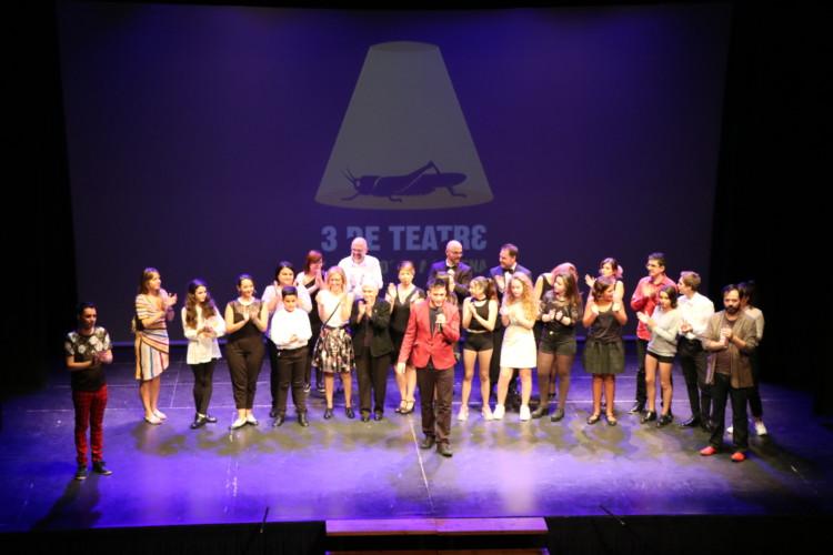 Balanç positiu del festival 3 DE TEATRE que es va celebrar el cap de setmana