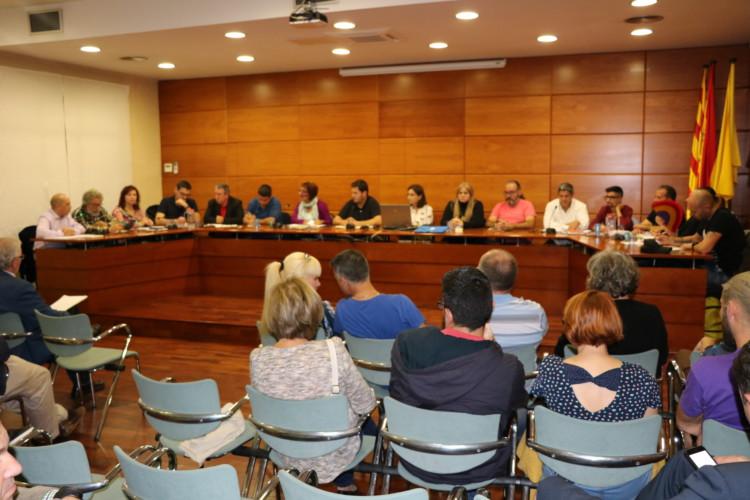 Avui se celebra el ple ordinari del mes de novembre de l'Ajuntament de la Llagosta