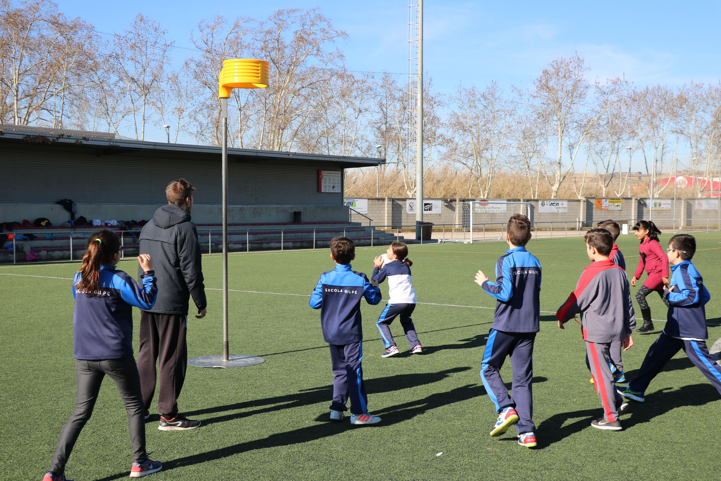 L'Ajuntament ha organitzat aquest matí una jornada multiesportiva escolar