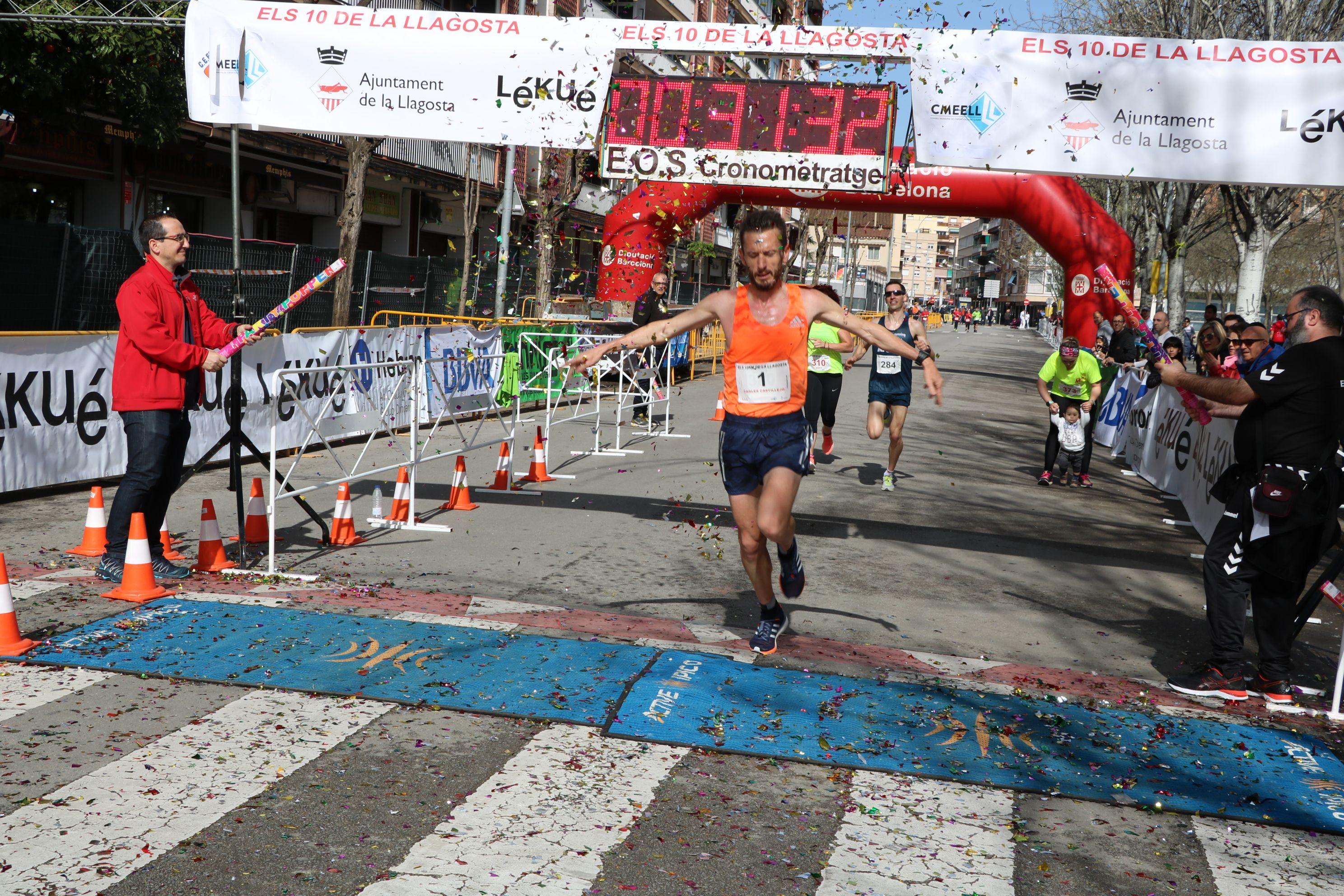 L'olímpic Carles Castillejo guanya la Cursa Popular Els 10 de la Llagosta