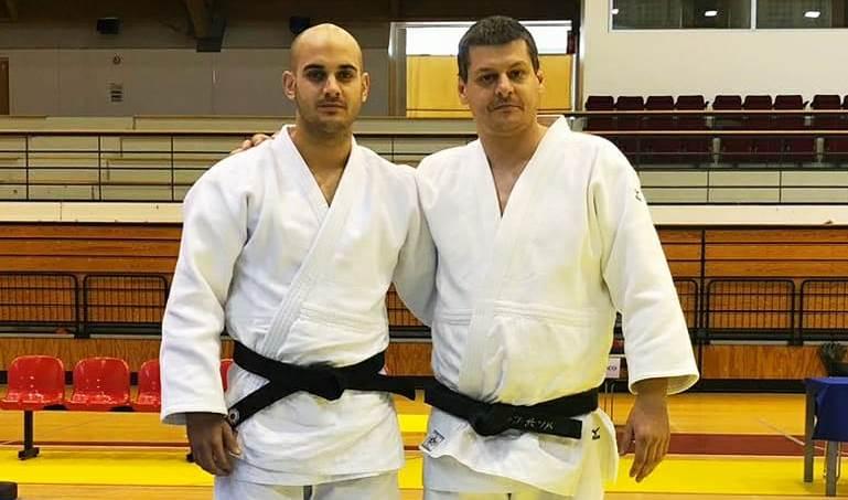 Sergi Pons i Héctor Roura, sisens al Campionat d'Espanya de katas de judo