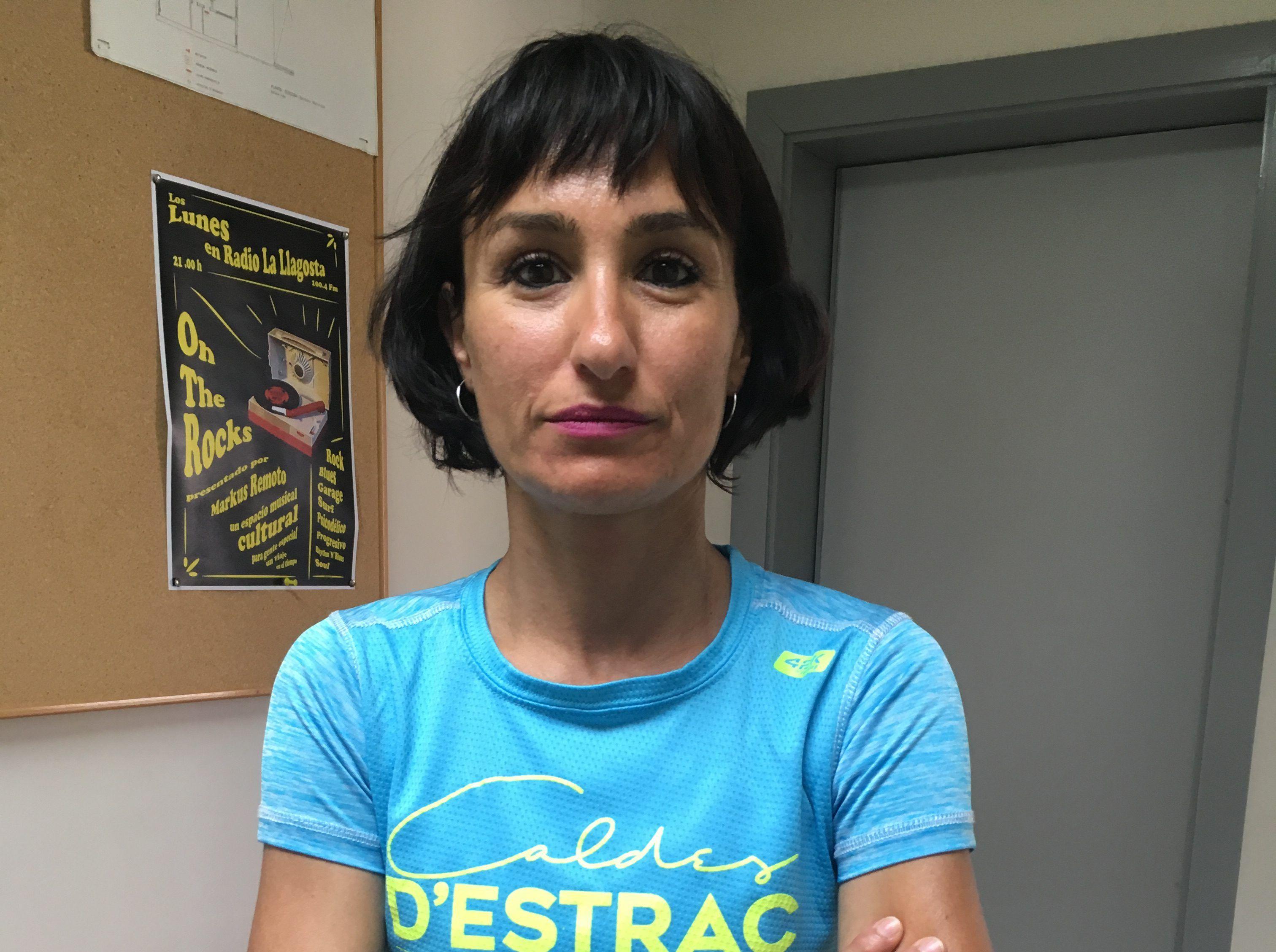 Maribel Íñiguez, bronze al català màster d'atletisme a Mollet