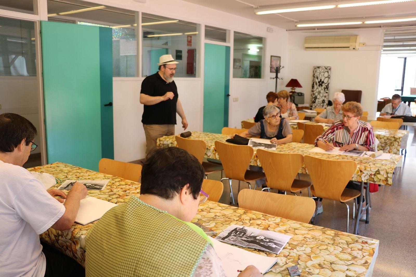 La programació de la cloenda d'activitats per a persones grans ha començat avui