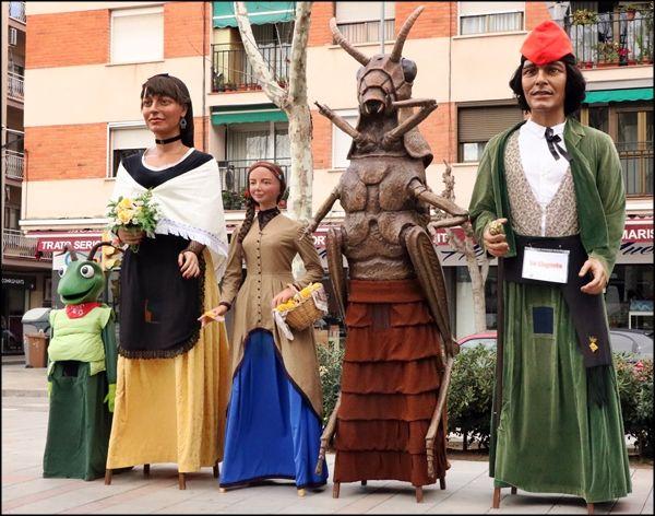 La Colla Gegantera visitarà diumenge Sant Antoni de Vilamajor