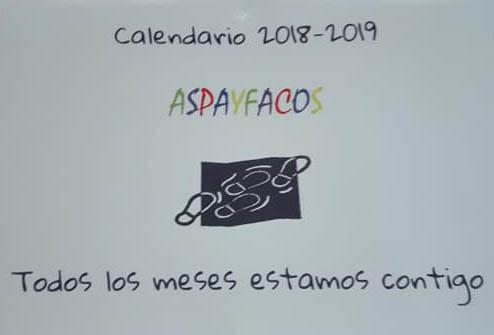 Aspayfacos posa a la venda el seu nou calendari solidari