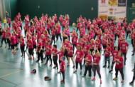 300 persones van participar ahir en la Zumba Gegant de 2018