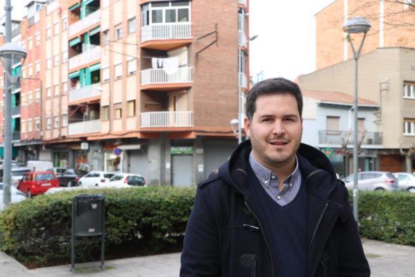 Óscar Sierra, alcalde de la Llagosta