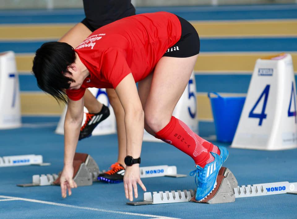 Sonia Bocanegra frega la medalla al Campionat de Catalunya individual màster