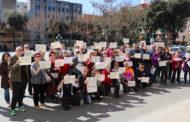 Concentració a la Llagosta per la jornada de vaga del Dia de les Dones