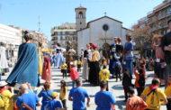 Ambient festiu a la 10a Trobada de Gegants de la Llagosta