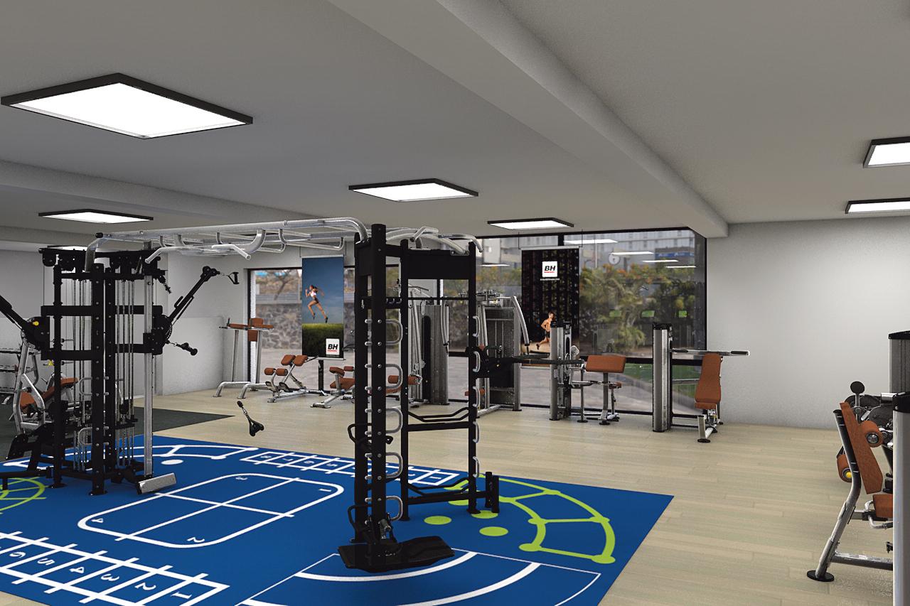 La sala de fitness del CEM El Turó, tancada del 2 al 6 de març per reformar-la