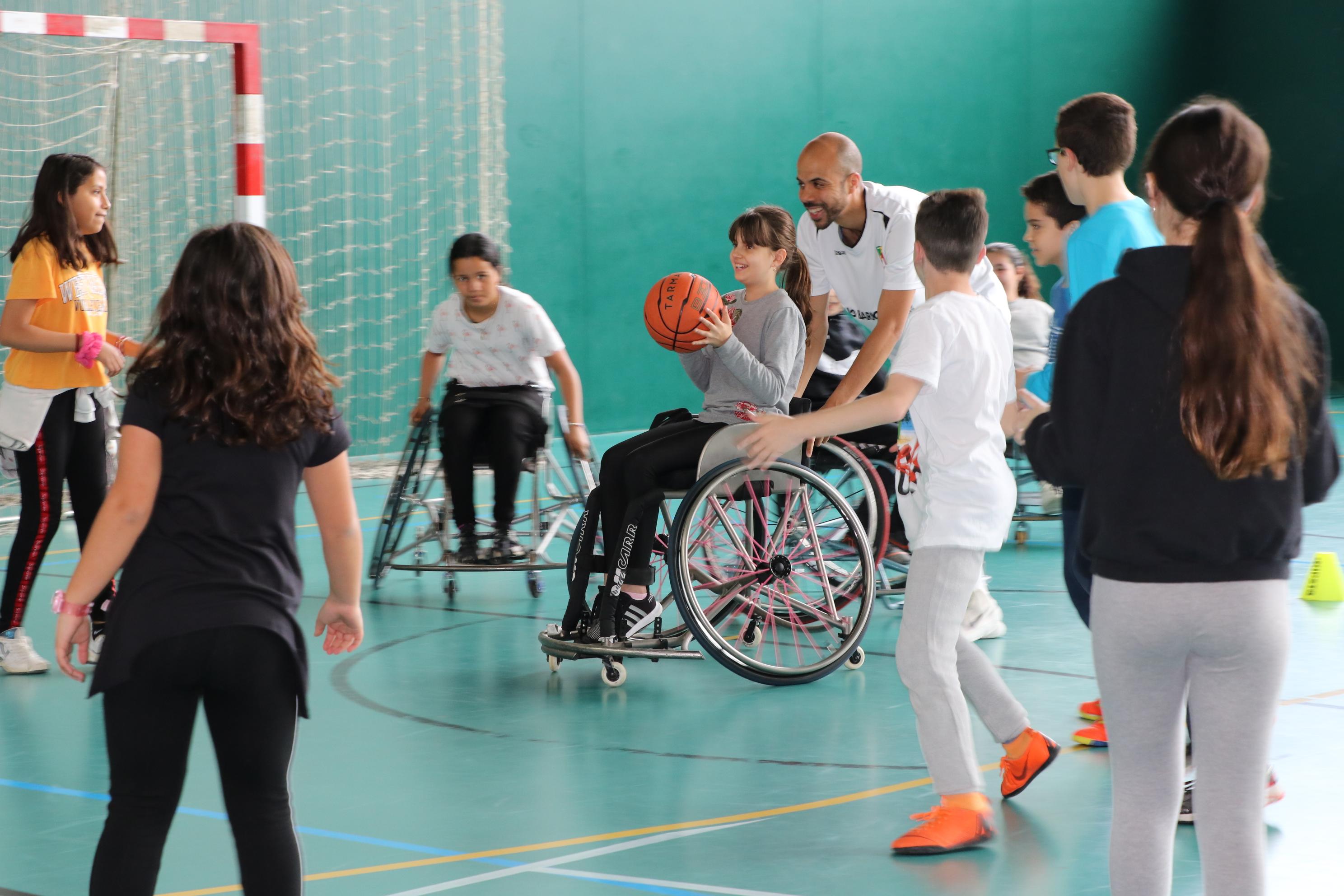 Darrera jornada d'inclusió esportiva per a escolars