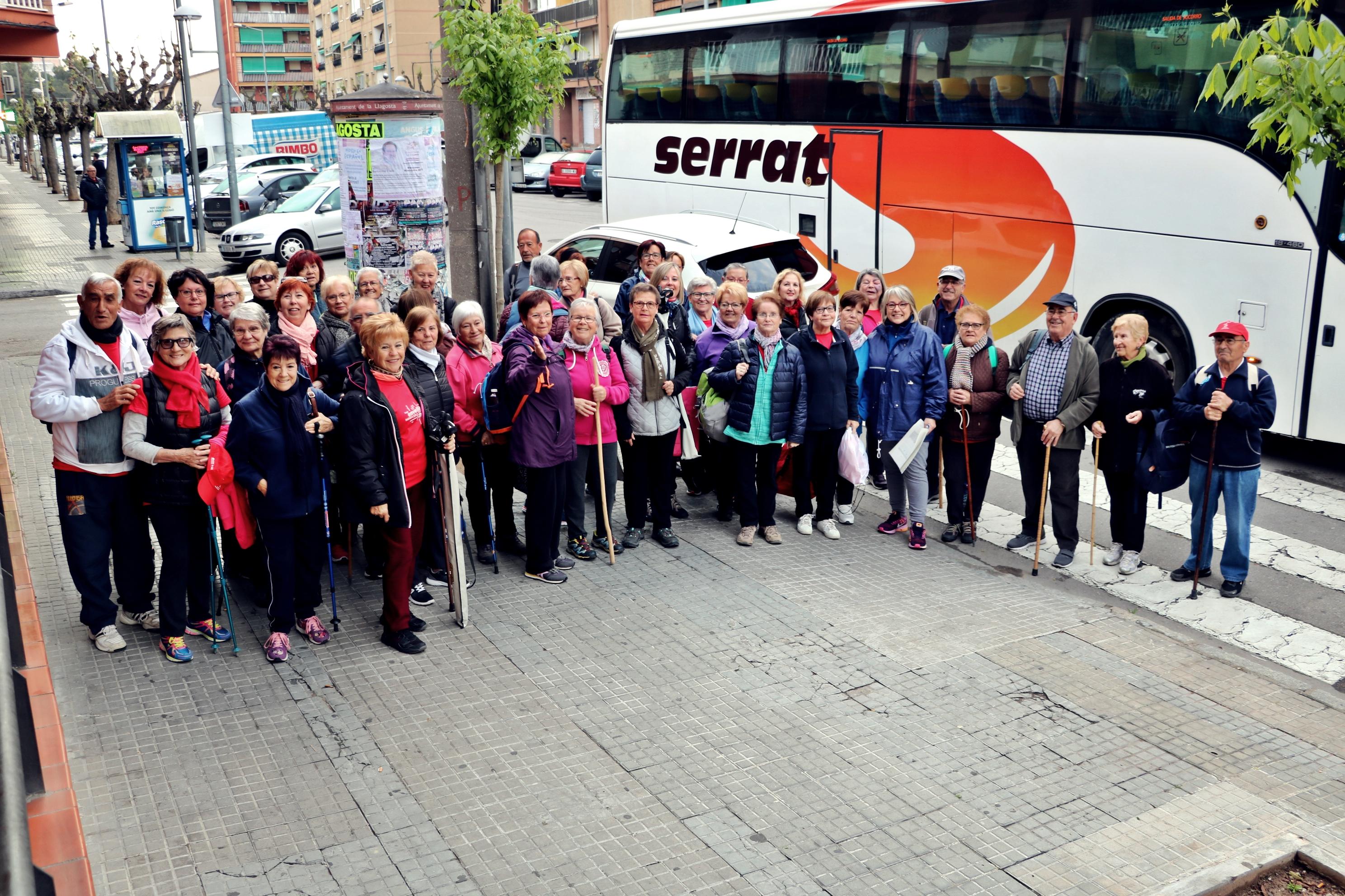 La nova passejada per a la gent gran es fa a Torrelles de Llobregat